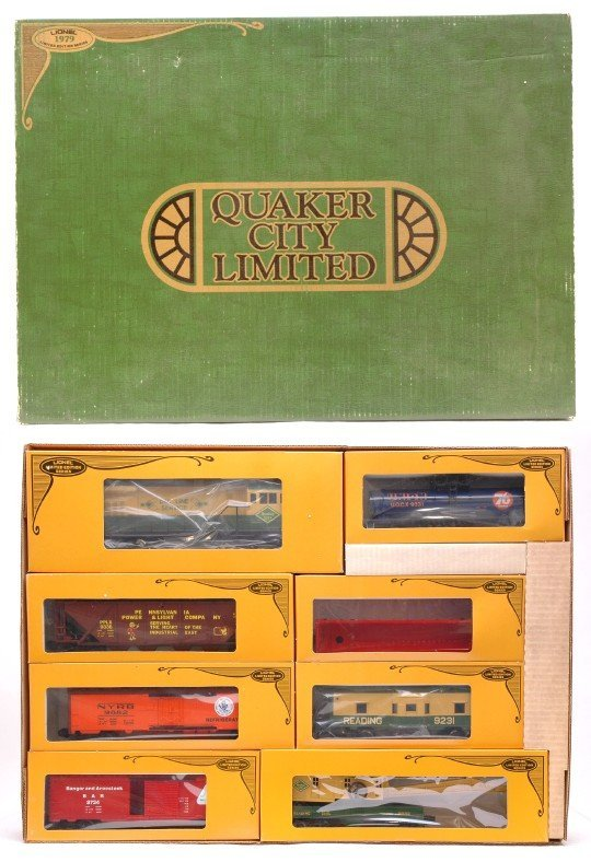 2017: Lionel 1971 Quaker Limited Freight Set in Set Box