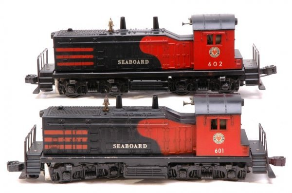 2018: Lionel 601 and 602 Seaboard NW2 Switchers