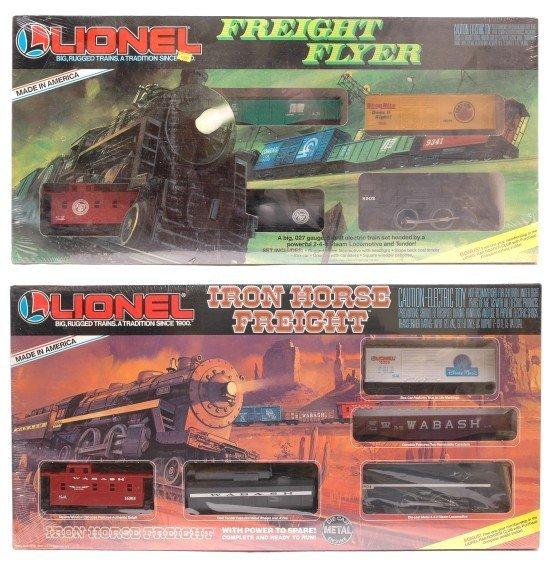 2021: Lionel 1687 Flyer 11703 Iron Horse Sealed Set Box