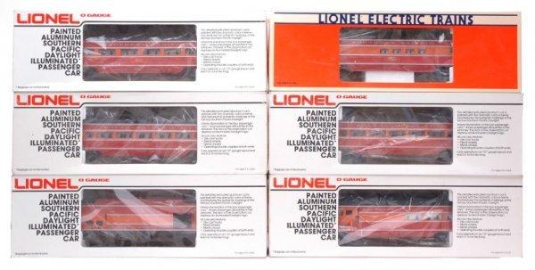 2149: Lionel 9589 9590 9591 9592 9593 19107 Boxed