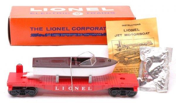 2600: Lionel 6501 Jet Motor Boat MINT Boxed