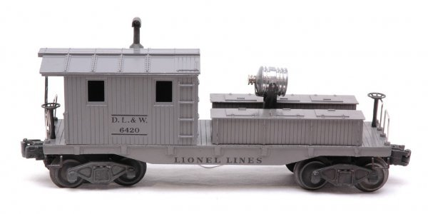 2602: Lionel 6420 DL and W Work Caboose with Light