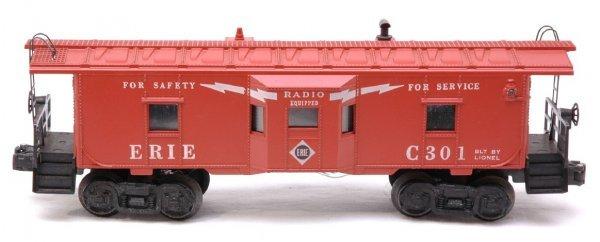 2604: Lionel 6517-75 Erie Bay Window Caboose