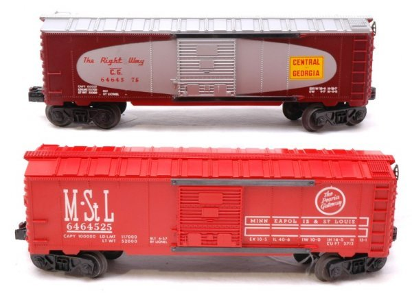 2605: Lionel 6464-375 C of G 6464-525 M and St Louis