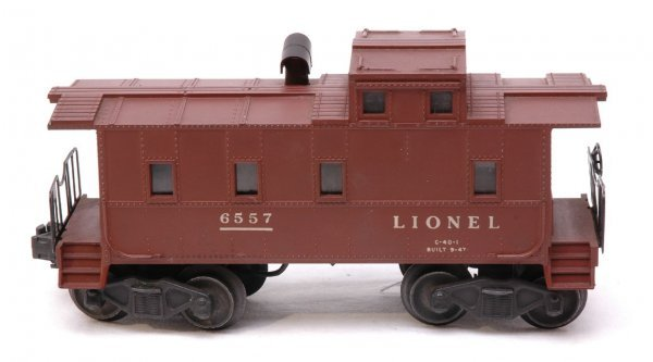 2606: Lionel 6557 Smoking Caboose