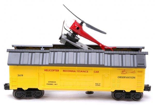 2608: Lionel 3619 Helicopter Reconnaissance Car