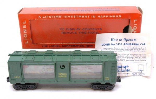2610: Lionel 3435 Aquarium Car Boxed