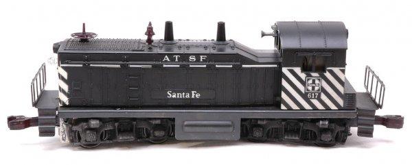 2612: Lionel 617 Santa Fe NW2 Switcher