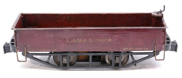 2842: RARE Lionel 2-7/8 200 Electric Express Gondola - 2