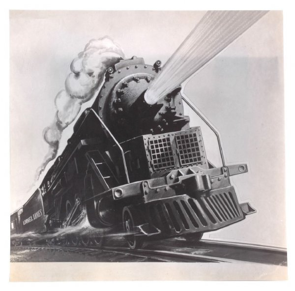 2869: Lionel Proof Steam Locomotive from Late 1940s