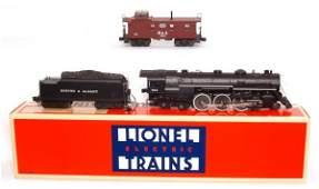 4306 Lionel 8606 steam loco 6920 caboose B and A