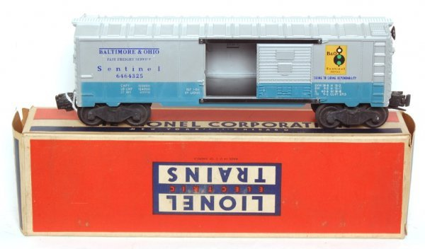 3001: Lionel 6464-325 Baltimore and Ohio boxcar, OB