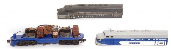 3018: Lionel 2367 Wabash F3 A unit only, 2333 shell