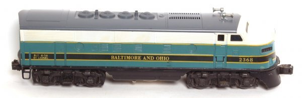 3024: Lionel 2368 Baltimore and Ohio power A unit only