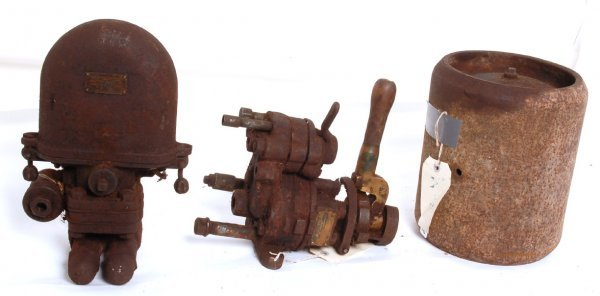 3169: Westinghouse interurban air brake parts