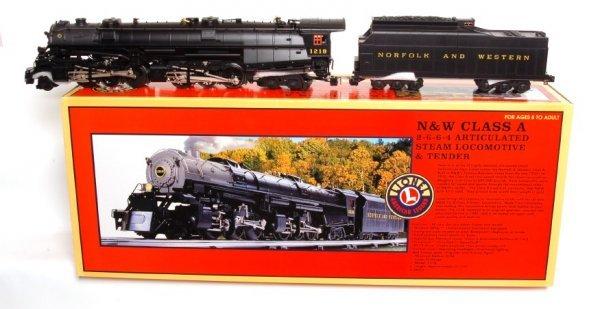 3289: Lionel 28052 Norfolk Western Class A 2-6-6-4 1218