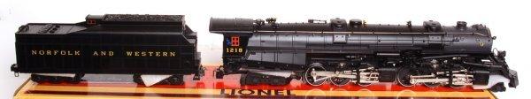 3289: Lionel 28052 Norfolk Western Class A 2-6-6-4 1218 - 2