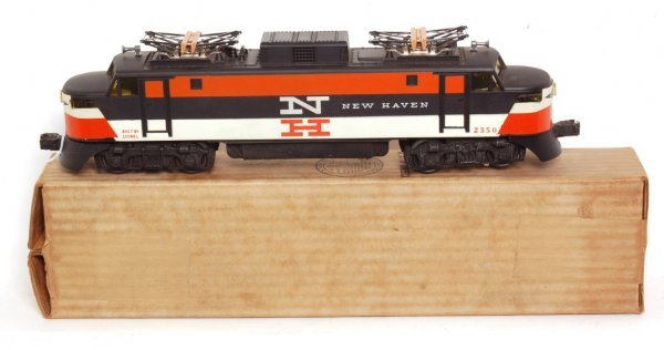 3800: Nice Lionel 2350 New Haven electric in OB