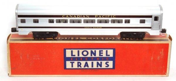 3802: Lionel 2553 Canadian Pacific Craig Manor, OB