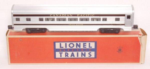 3803: Lionel 2554 Canadian Pacific Craig Manor, OB