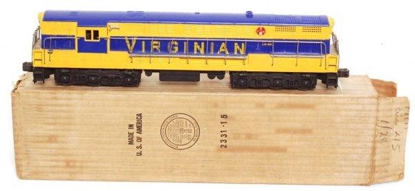 3805: Lionel 2331 Virginian FM in OB