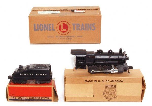 3810: Lionel 1615 steam switcher in OB and MC