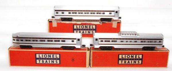 3811: Lionel Congressional cars 2541, 2542, 2544 OB