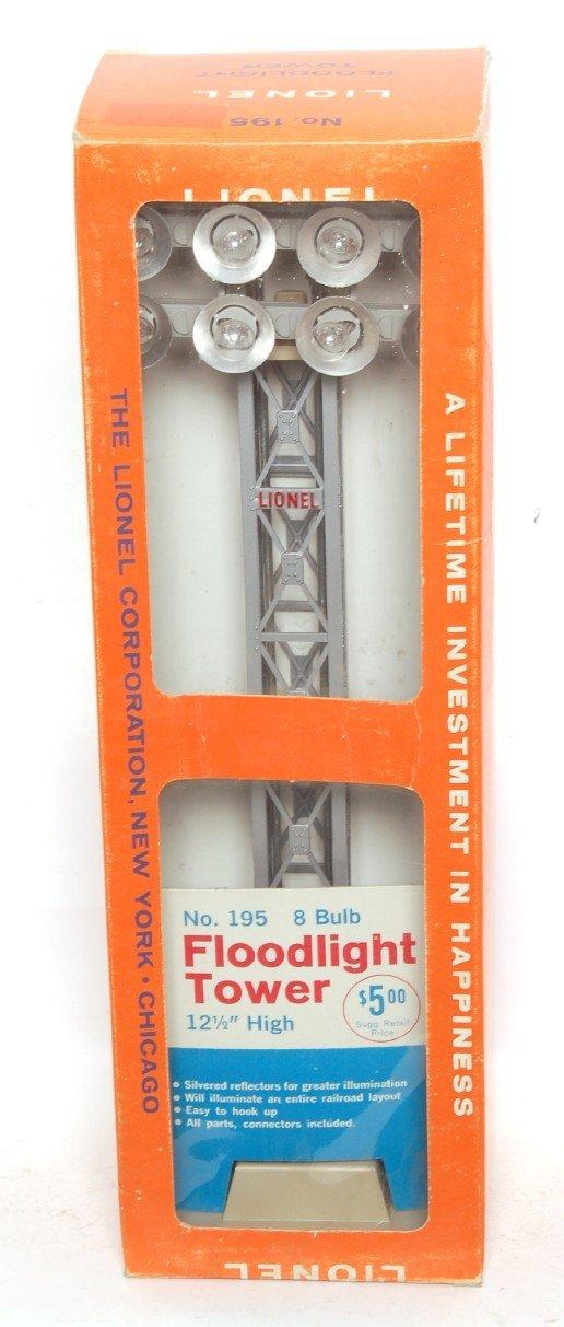 3815: Nice Lionel 195 floodlight tower, box variation
