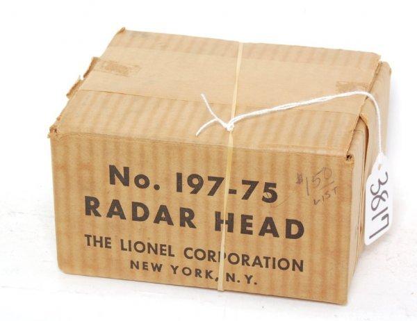 3817: Lionel separate sale 197-75 radar head OB