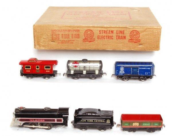 3819: Marx boxed 4999 freight set