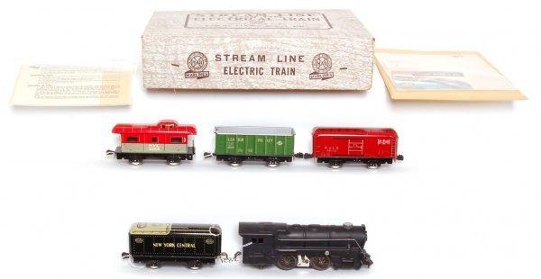 3821: Nice Marx boxed 5652 freight set
