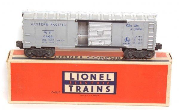 3822: Lionel 6464-1 Western Pacific boxcar