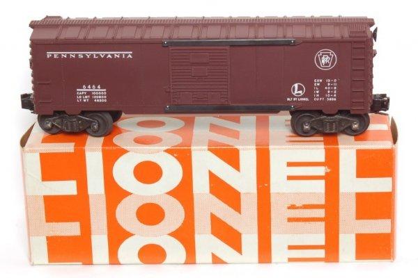 3823: Mint Lionel 6464-200 Pennsylvania boxcar, OB