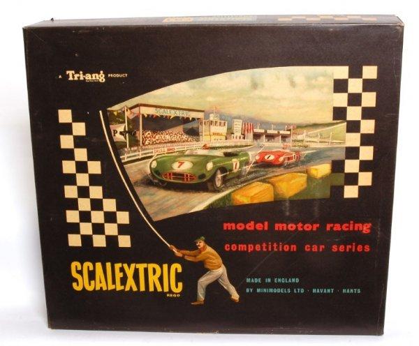 3895: Tri-Ang Scalextric model model motor racing, OB