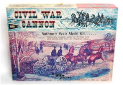 3897 Mint Marx Civil War Cannon kit in OB