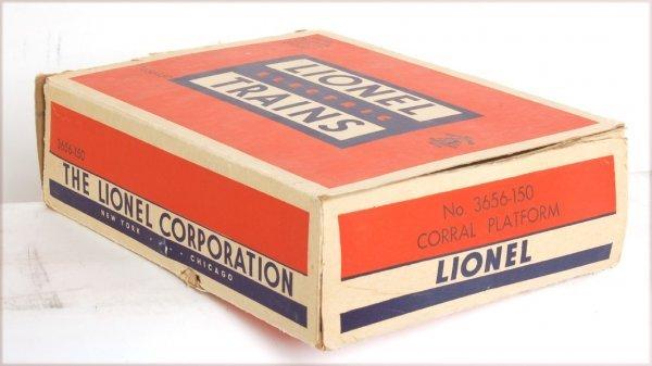 4035: Tough Lionel 3656-150 cattle corral box