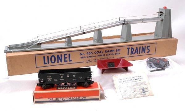 1: Lionel 456 Coal Ramp Set Boxed