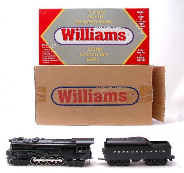 6: Williams Pennsylvania 671 with Tender MINT Boxed