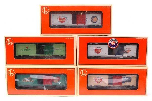 7: Lionel 19985 19987 19969 19988 29901 MINT Boxed
