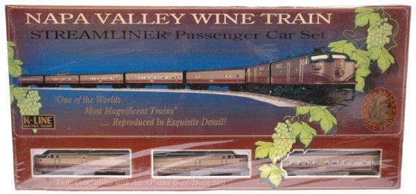 14: K-Line Napa Valley Wine Pass Set Sealed Boxed