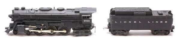 16: Lionel 2055 Steam with 6026W Tender