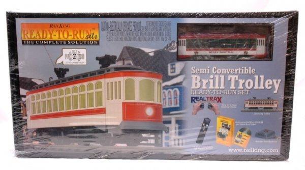 19: MTH 30-4063-1 Christmas Trolley Train MINT OB