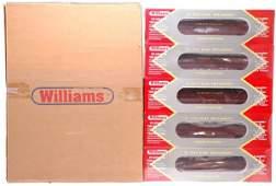 193: Williams 4010 LV five Car Passenger Set MINT OB