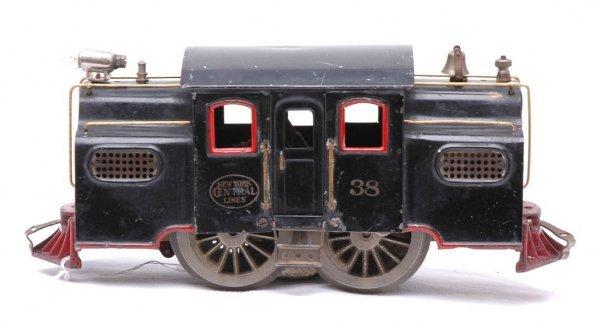 286: Lionel Black 38 Electric Locomotive
