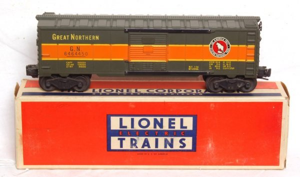 1803: Outstanding Lionel 6464-450 Great Northern, OB