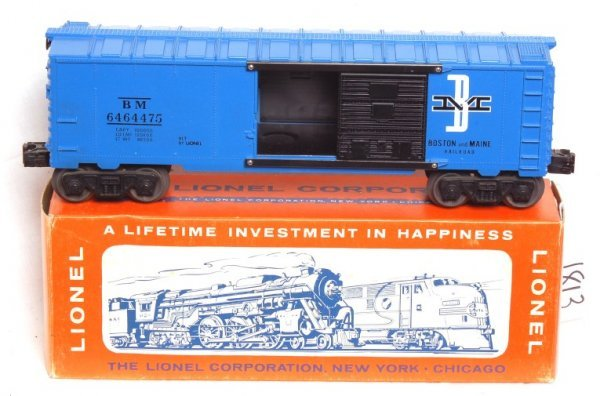1813: Nice Lionel 6464-475 Boston and Maine, OB