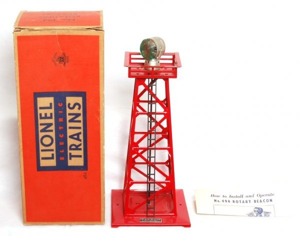 1820: Lionel 494 rotating beacon in OB