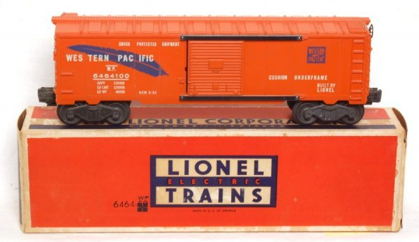 1988: Lionel 6464-100 blue feather Western Pacific, OB