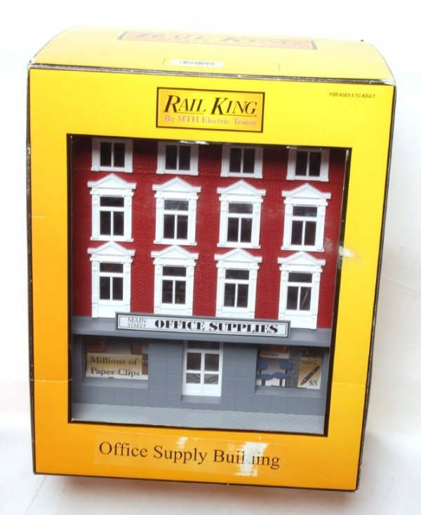 1006: MTH Rail King 30-9013 office supply building