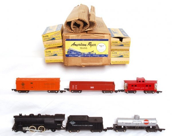 1013: American Flyer 5312T steam freight set 302